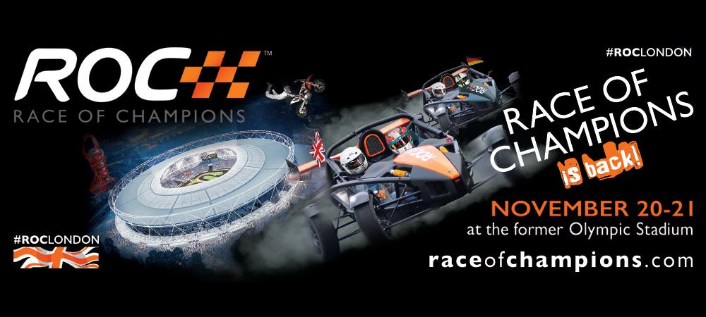 Race of Champions Promo at Brands Hatch