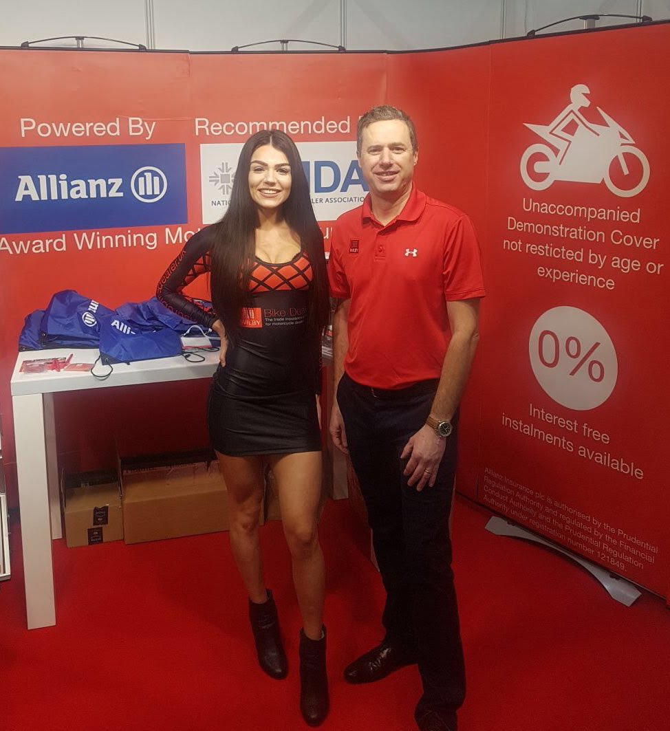 Wilby Insurance - Motorcycle Trade Expo 2018 - Stoneleigh Park 1
