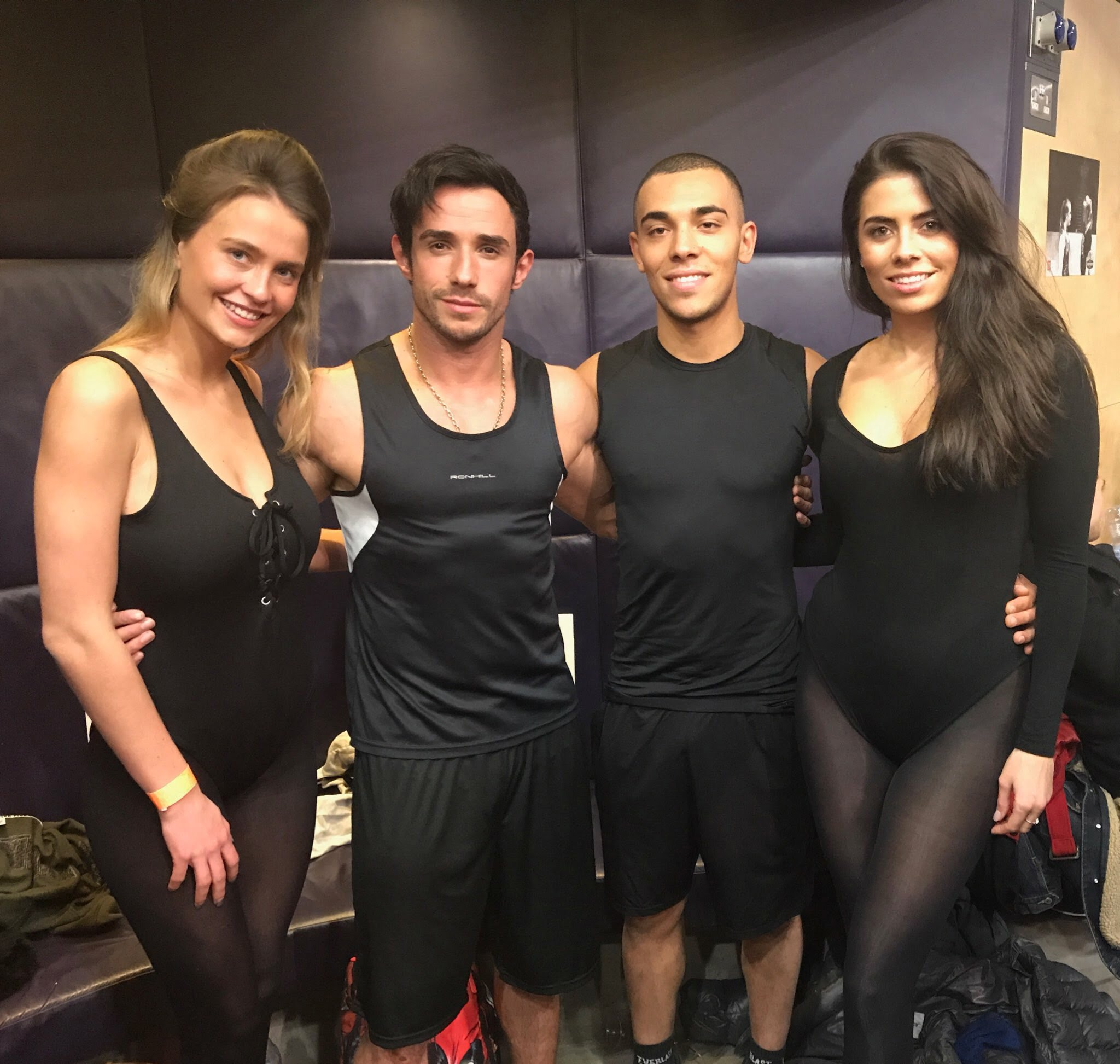 Ring Girls and Ring Boys at LSE Student Union on 21st February 2018