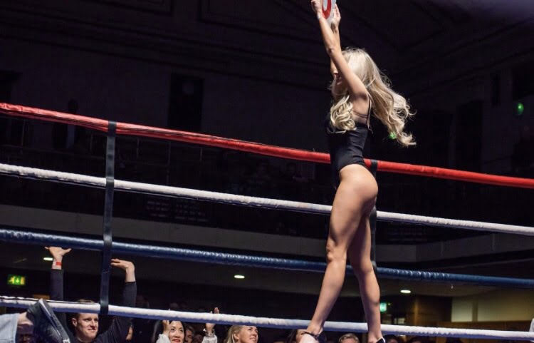 Ring Girls – Boxstar Promotions – York Hall – 29th March 2018