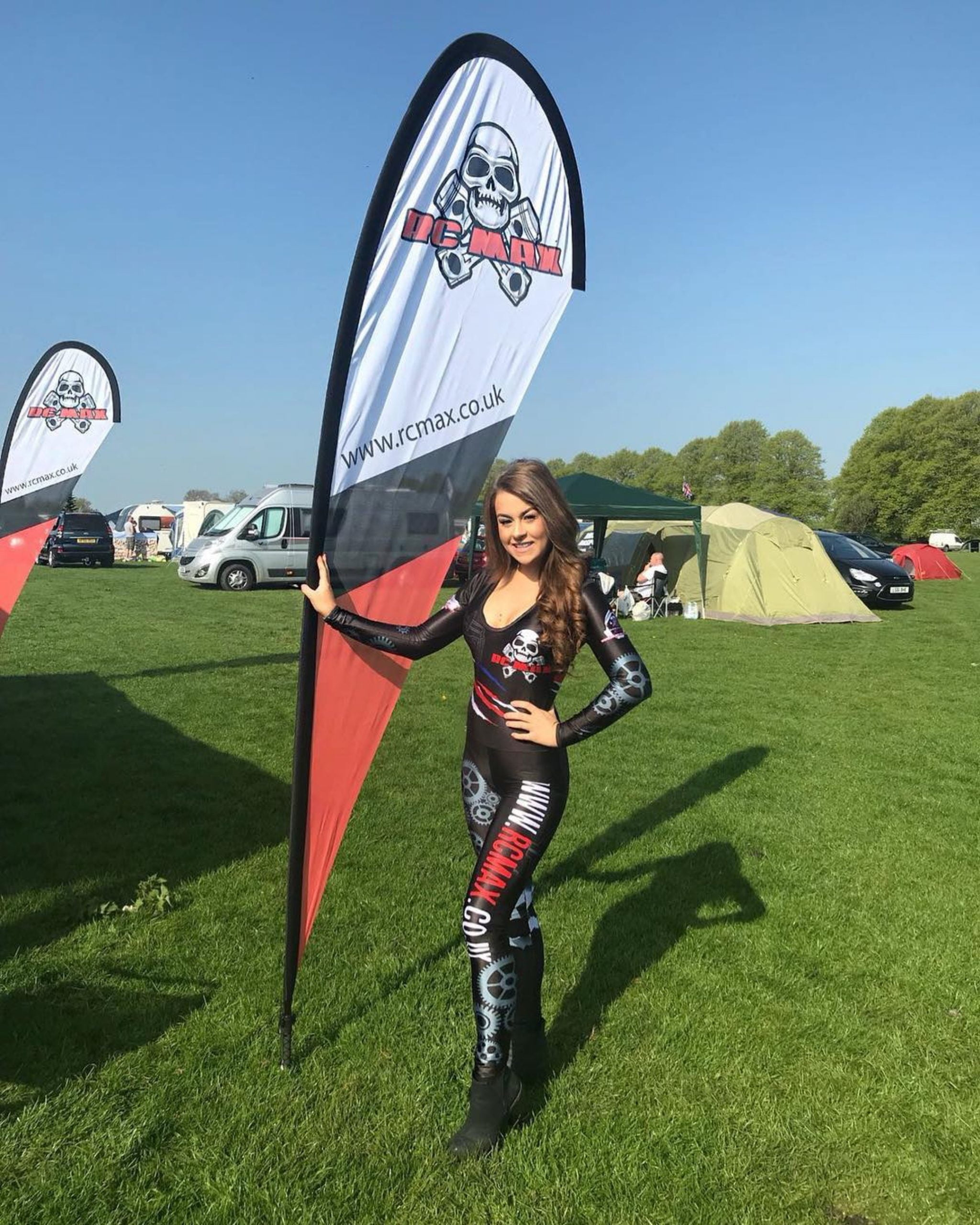 Promotional Model with RC MAX in Northants for BashFest on 5th May