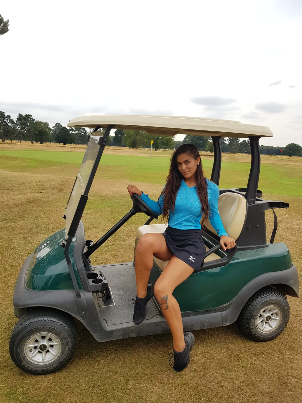 Golf Hostess with Mizuno Golf Pairs at Walton Heath Golf Course on 20th July
