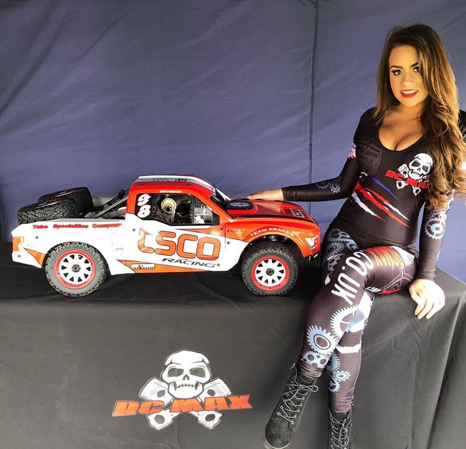 Promotional Model with RC MAX in Northants for BashFest on 25th Aug