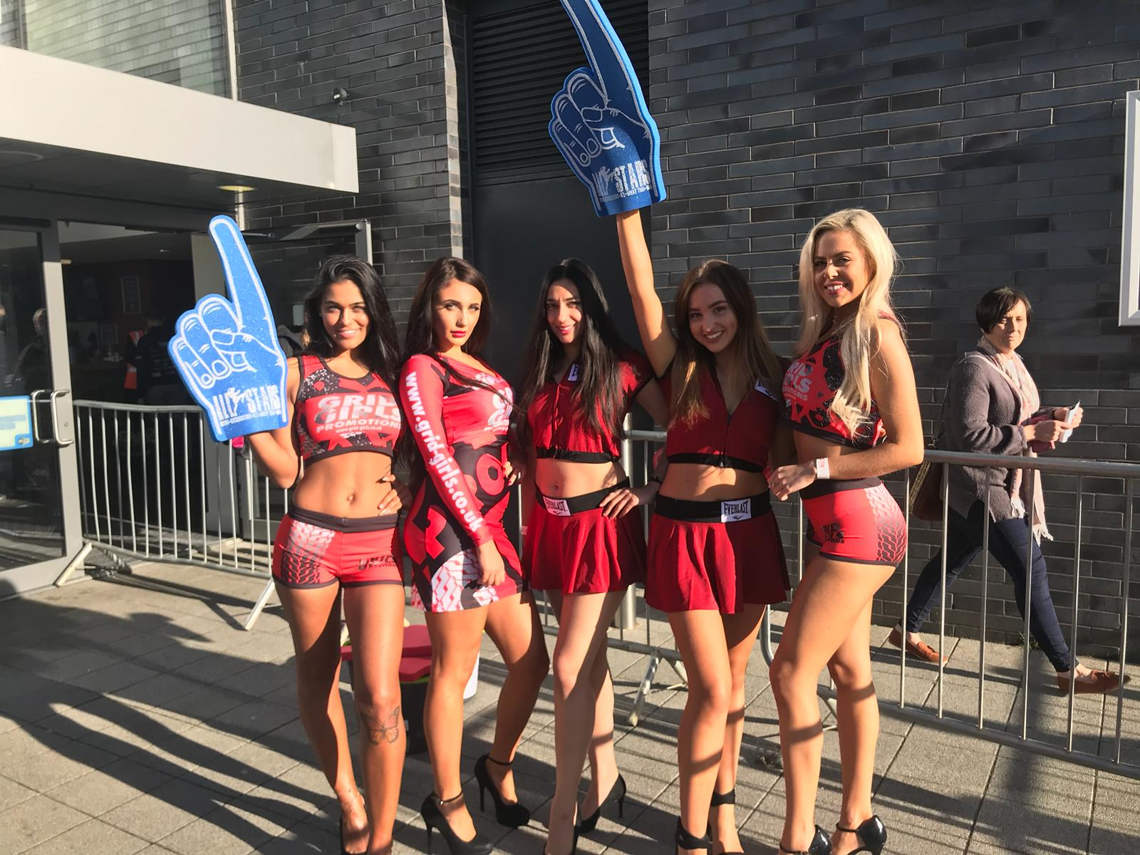 Ring Girls and Promo Models – All Stars Promotions – Milton Keynes – 29th Sept 2018