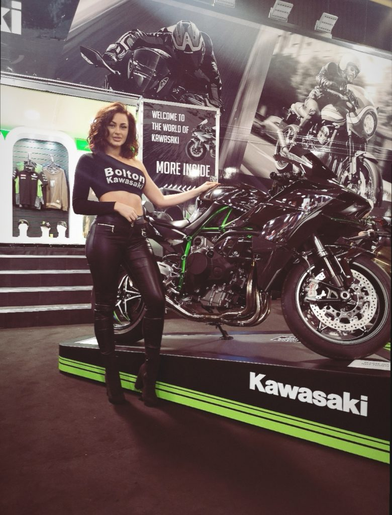 Promotional Model Bolton Motorcycles Manchester Motorcycle Show 2019 01
