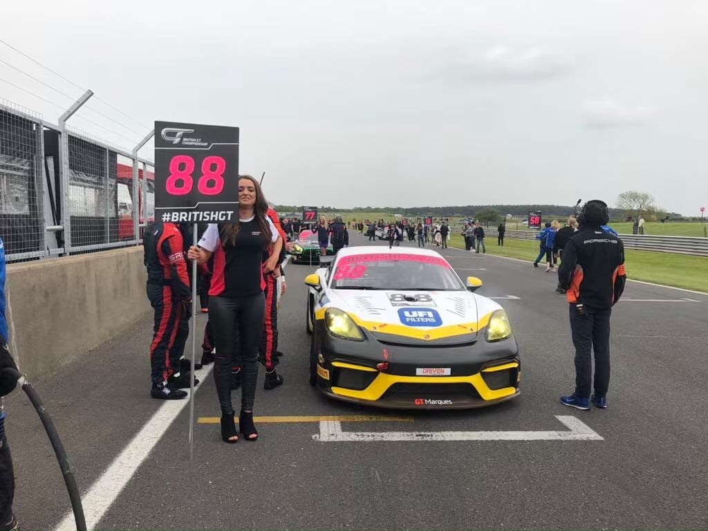 GT Marques at Snetterton for British GT 19th May 2019 01