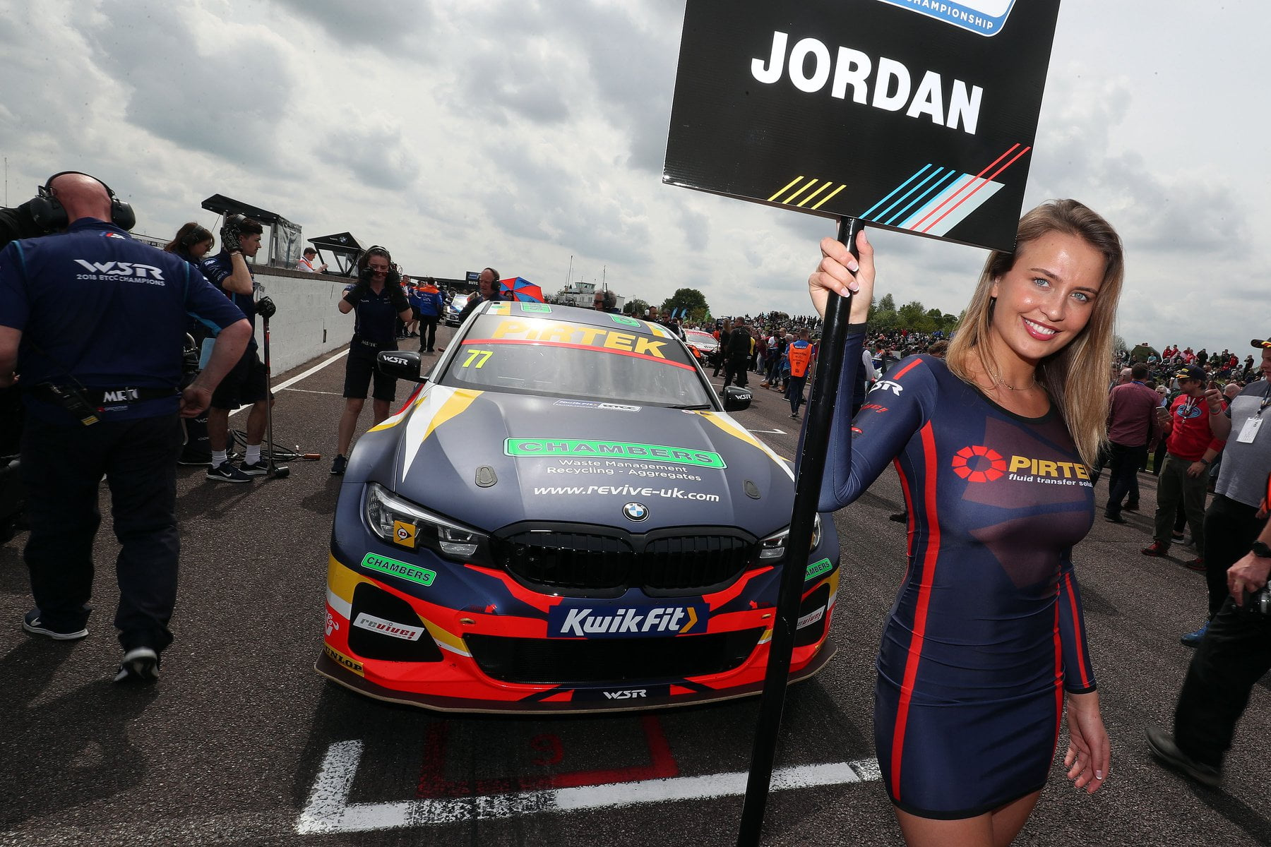 BMW Pirtek Racing BTCC at Croft BTCC – 16th June 19