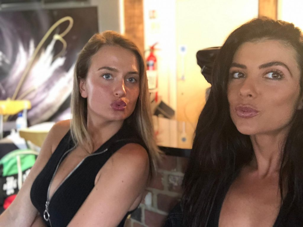 Ring Girls Iba Boxing Boatyard Essex 21st June 2019 01