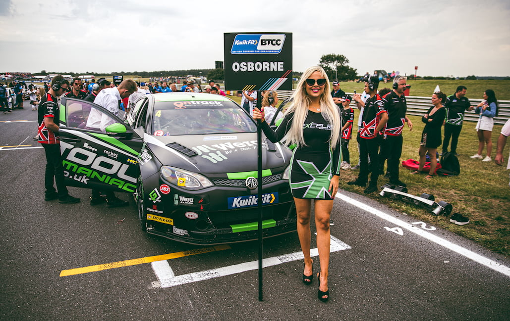 Excelr8 Motorsport BTCC at Snetterton BTCC on Sunday 4th August 2019
