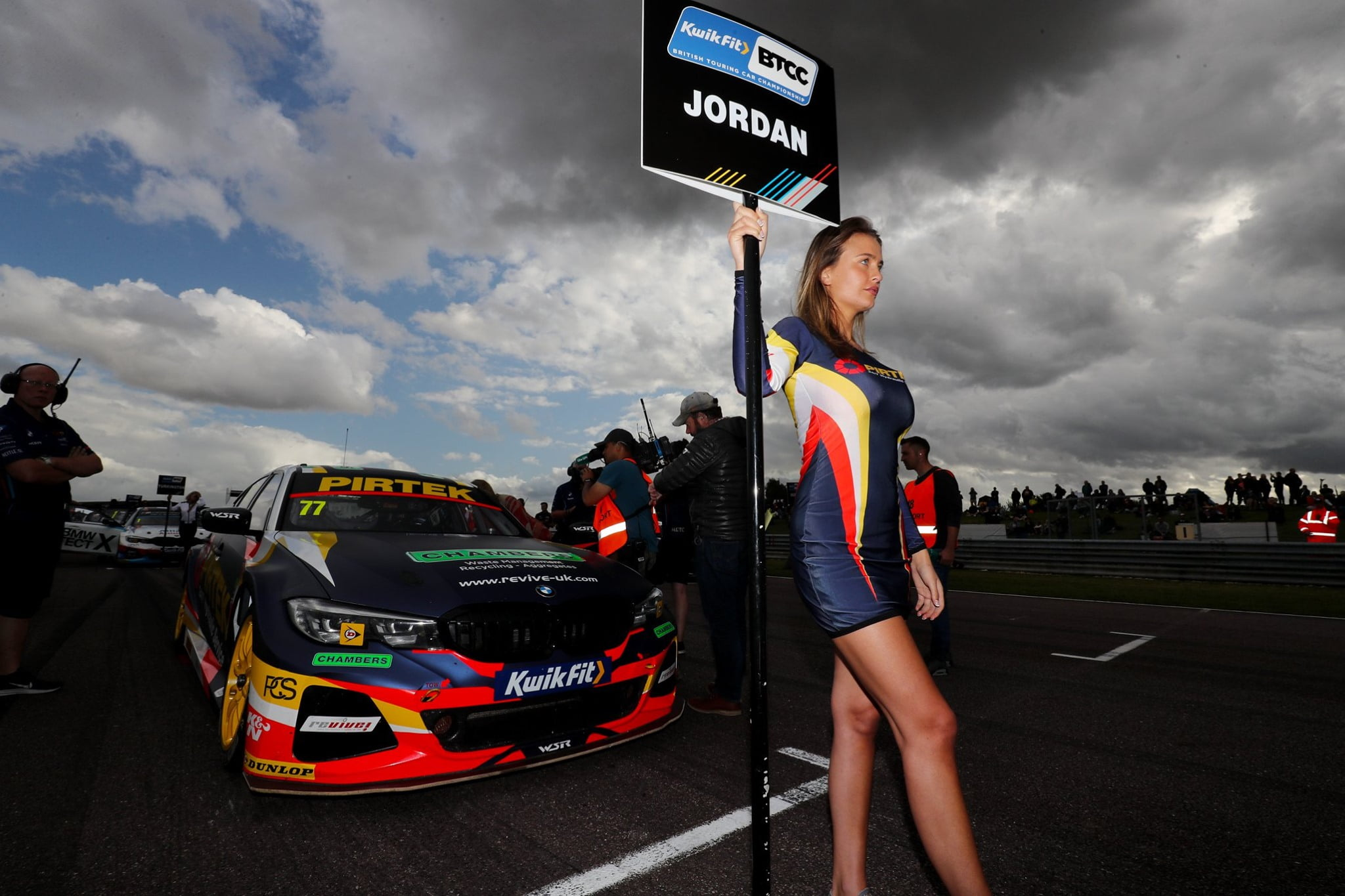 BMW Pirtek Racing BTCC at Thruxton BTCC on Sunday 18th August 2019