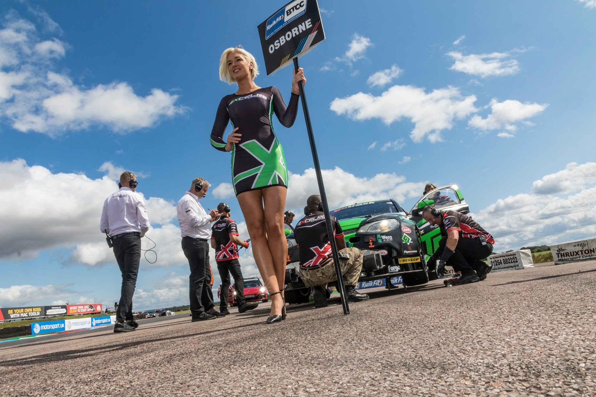 Excelr8 Motorsport BTCC at Thruxton BTCC on Sunday 18th August 2019