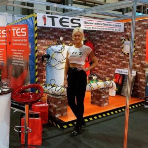 Promotional Model - Contamination Expo - Birmingham NEC - 11-12th Sept 1