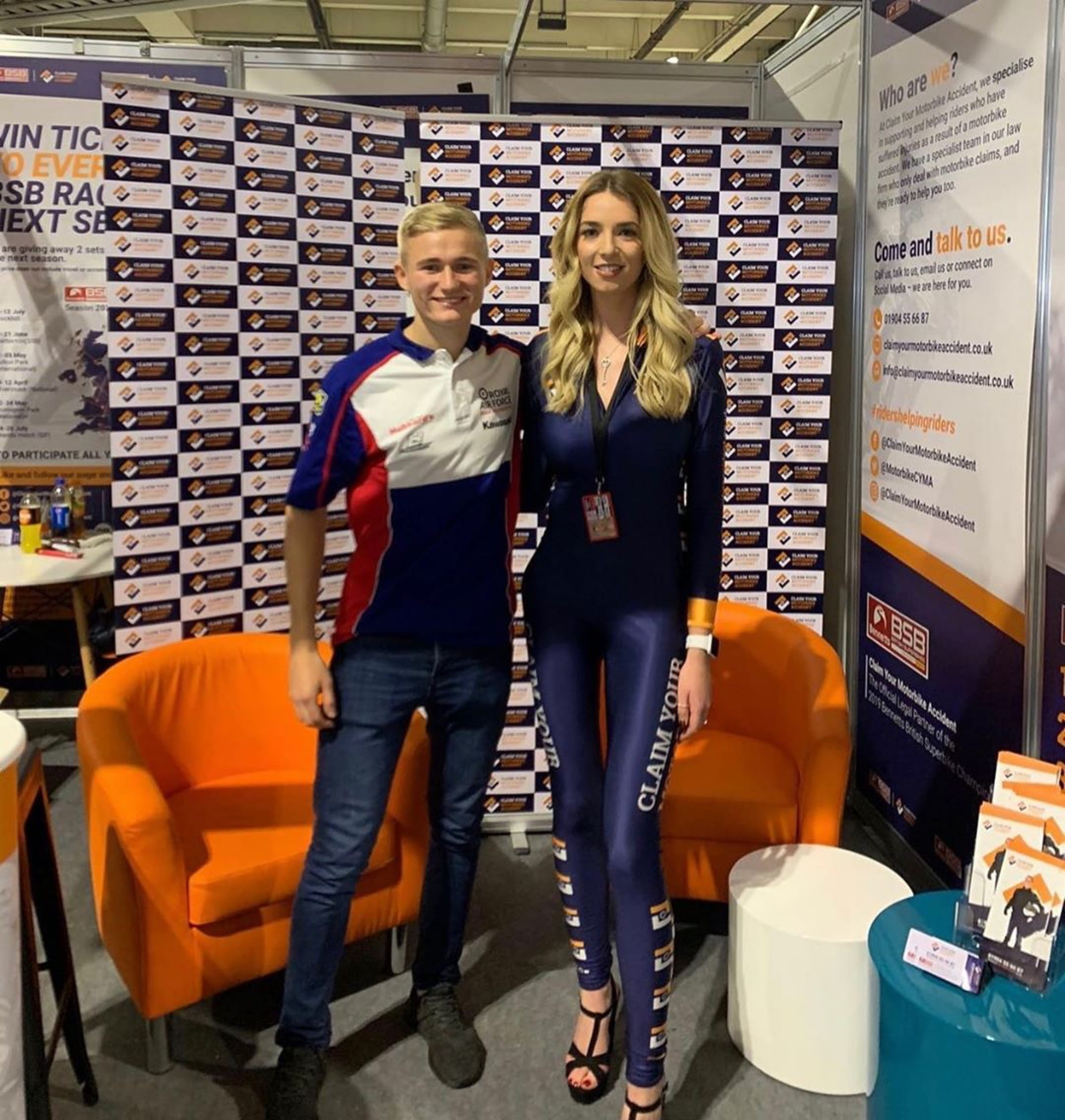 Promo Model – Motorcycle Live – Birmingham – 23/24th Nov 2019