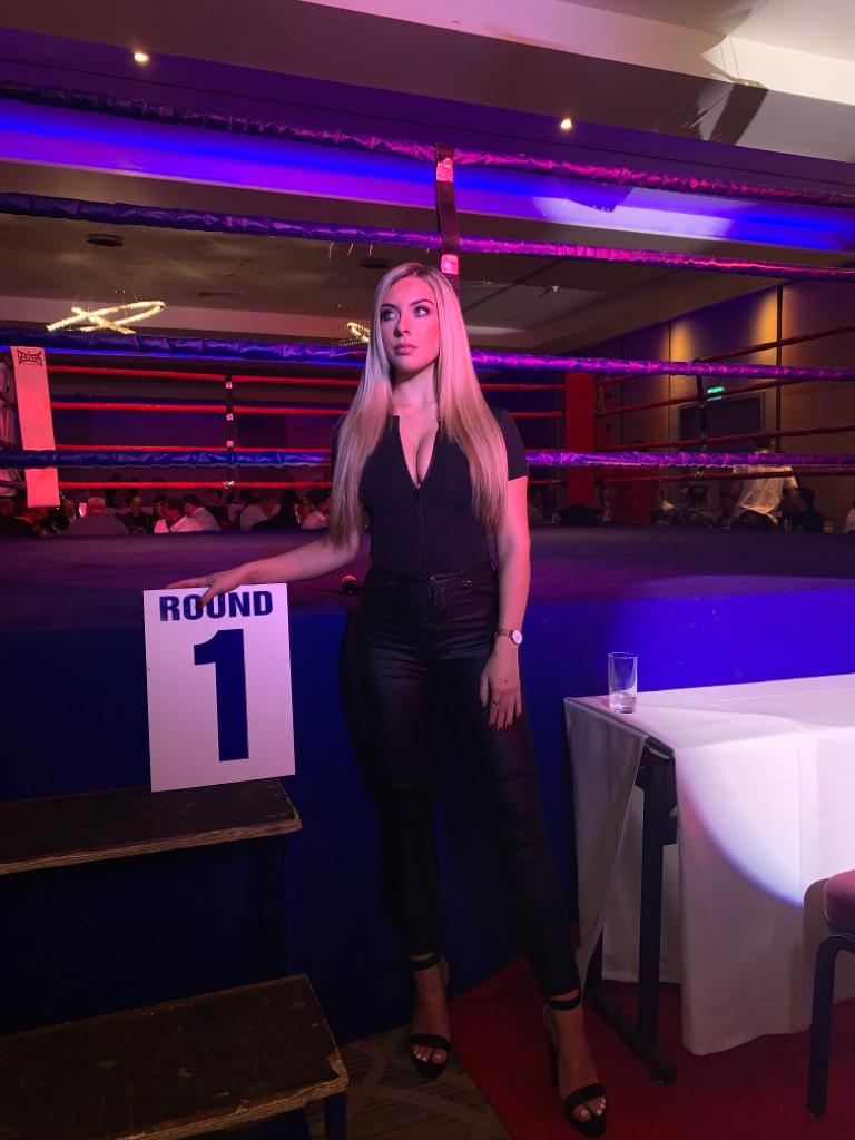 Ring Girls – ARC Promotions – Colchester – 16th Nov 2019