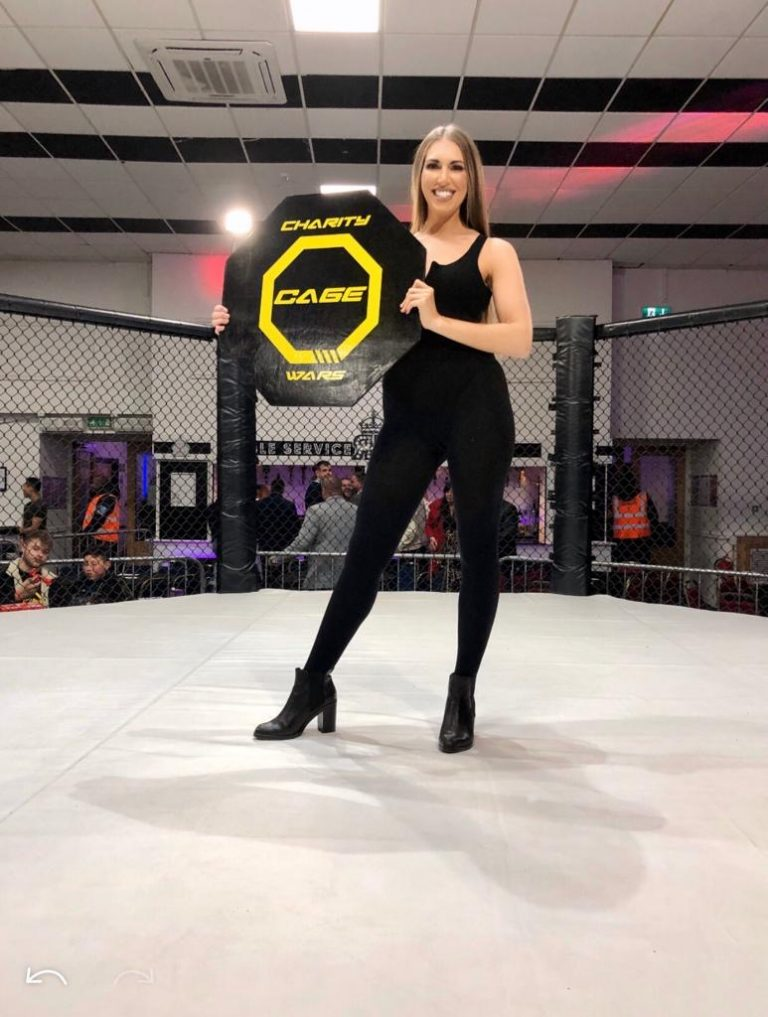 Ring Girls Charity Cage Wars Coventry 30th November 2019 01