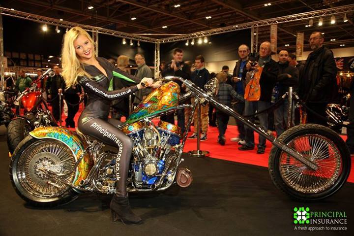 London Motorcycle Show – Exhibition Model Hire