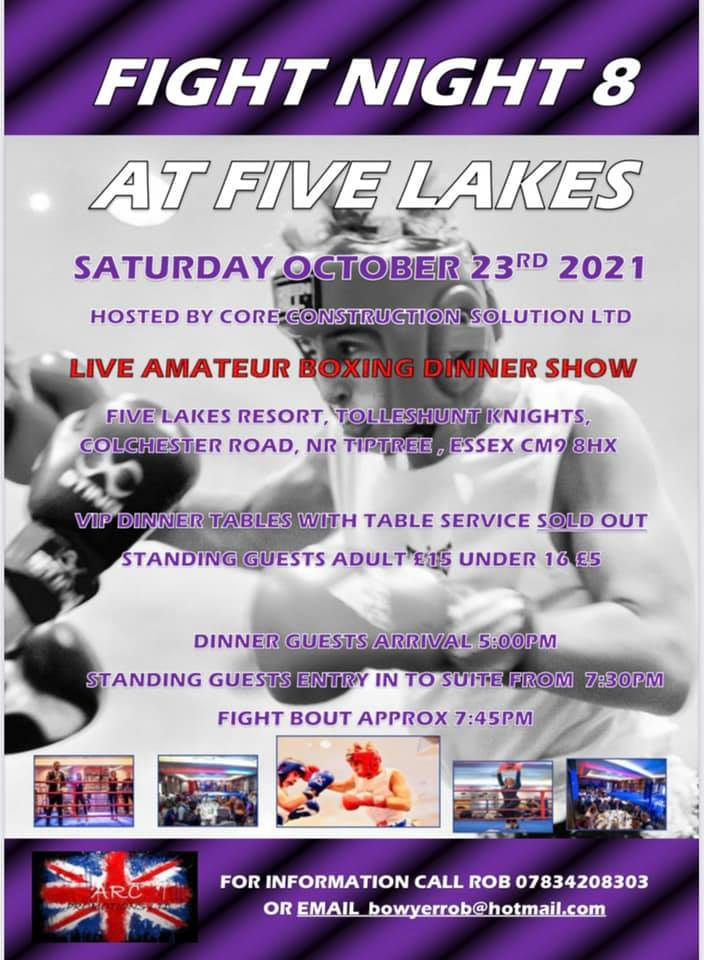 Fight Night 8 at the Five Lakes 01