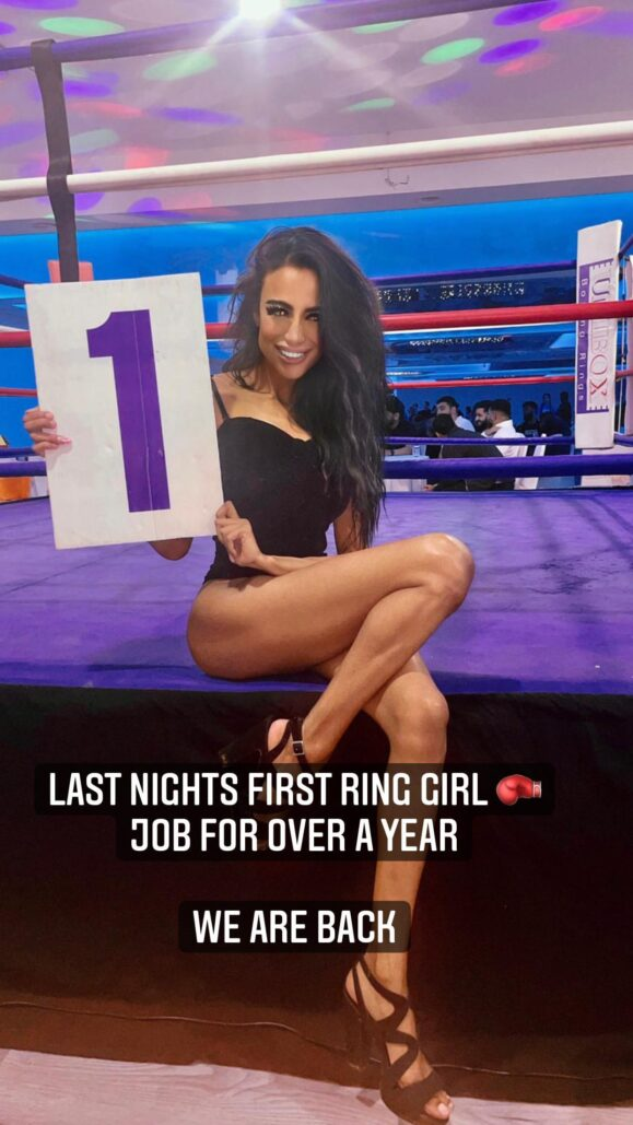Ring Girl – Mayhem in the Midlands – Coventry – 1st August 2021