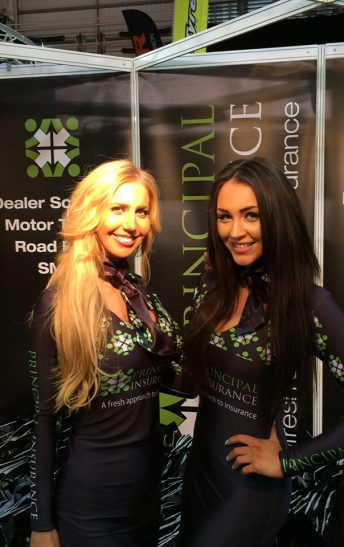 Principal Insurance Girls – Motorcycle Trade Expo 2015